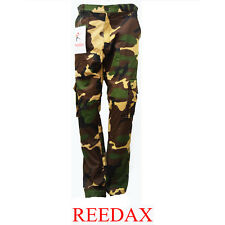 New Men Boy Army Camouflage Cargo Trouser Military Motorbike Pants with Knee Pad