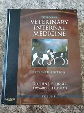 Textbook of Veterinary Internal Medicine 7th Ed. Ettinger Feldman Vol 2 ONLY