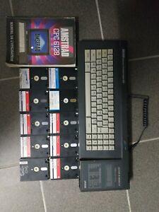 Ordinateur Amstrad Cpc 6128 avec Disquettes