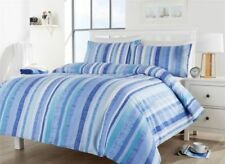 Cotton Blend Striped Bedding Sheets