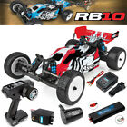 Associated 90032C 1/10 RB10 2WD Brushless Off-Road RTR Buggy Red Lipo Combo