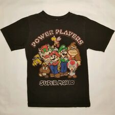 NINTENDO SUPER MARIO BROTHERS POWER PLAYERS TSHIRT VINTAGE OFFICIAL SEAL 2010