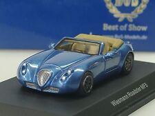 BOS Wiesmann MF5 Roadster, blau met. - 1/87 - sold out