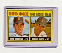 1967 Topps #314 Reggie Smith Baseball Card, Excelent Condition Rookie Card