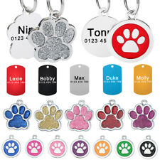 Military Personalised Dog Tag Kitten Cat Puppy Pet Collar ID Tags Name Engraved