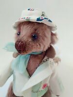 Teddy Bear Bondjor in costume OOAK Artist Teddy by Voitenko Svitlana.