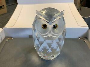 SWAROVSKI Figurine 010125 Giant Owl / 16,5 Cm. Boxed & Certificate