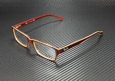 RAY BAN RX5169 5817 Trasp Light Brown Yellow Demo Lens 52 mm Unisex Eyeglasses