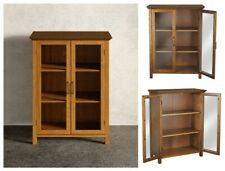 New ListingBathroom Storage Cabinet Free Standing Wood Door Organizer Floor Cupboard Pantry