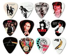 More details for iconic and famous album covers 12 guitar picks plectrums