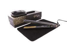 GHD V Gold Classic Hair Straightener Styler - With Free Mat- Free Paddle Brush
