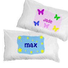 Personalised Children's Pillowcase - Christening, Godchild Gift, Boy or Girl