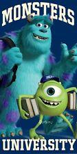 Oficial Disney Monsters University Inc Algodón Toalla De Playa Mike Sully Regalo