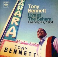Live At The Sahara-Las Vegas 1964 - Bennett,Tony (2013, CD NEUF)