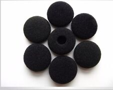 10 Pairs 13-18mm Black  Foam Cushion Ear Pad Cover Earphone Headphone Earbud New