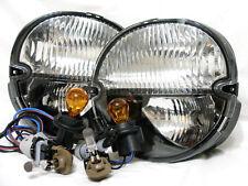 For 2004-2008 Grand Prix Turn Signal Fog Light Lamp W/4 Light Bulbs RL One Pair