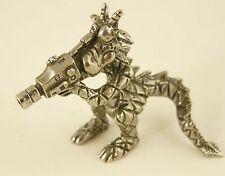 Pewter Dragon with Video Camera - Camcorder - 6cm tall - will stand on shelf