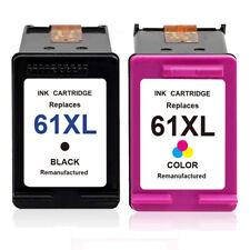 61 XL Black & Color Ink Cartridge for HP Deskjet 2540 1000 1512 2000 3510 3054