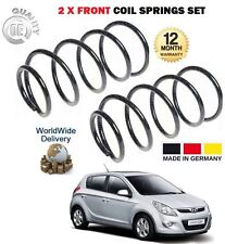 FOR HYUNDAI i20 G4LA G4FA 1.2 1.4 HATCH 2009--> NEW 2 X FRONT COIL SPRING SET