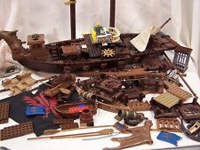 Mega Bloks Blocks Man O War Pirate Ship Dragon Incomplete Replacement Piece 9895