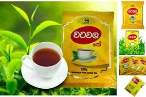 Ceylon Tea Sri lanka Natural Organic Best Pure Black Watawala Kahata Tea 50-100g