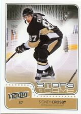 11/12 UPPER DECK VICTORY STARS OF THE GAME SIDNEY CROSBY PENGUINS *31118