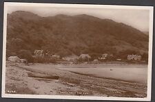 Postcard Onich near Fort William Highland from the Pier RP by White of Dundee