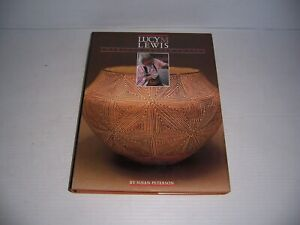 Lucy M. Lewis American Indian Potter Hardcover Book by Susan Peterson