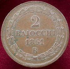 More details for papal states 2 baiocchi 1851 r (h2804)