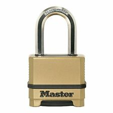 Master Lock Excell RESET COMBO PADLOCK Maximum Security BRASS- 38mm *US Brand