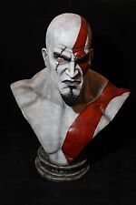 GOD OF WAR KRATOS SCALE BUST EXCLUSIVE STATUE GAME