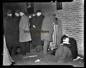 1935 NYC Depression Era Relief 71st Regiment Armory Film Camera Negatives #1 (2)
