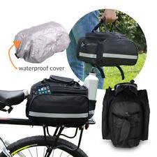 Fahrradtasche Gepäckträger Fahrrad Tasche Gepäckträgertasche Bike Flaschenhalter