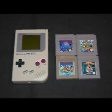 ☼ GB - Consola Game Boy (Fat) DMG-01 + 4 JUEGOS ☼