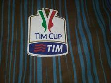 SET TOPPA PATCH BADGE TIM CUP COPPA ITALIA+FINALE ROMA 2014 GOMMINA AUTENTICA