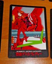 NEON GENESIS EVANGELION VENDING PP CARDDASS CARD CARTE 49 MADE IN JAPAN 1997 NM