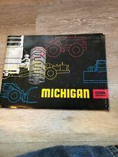 Vintage Michigan Tractor Clark Equipment Brochure Catalog