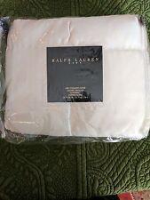 Ralph Lauren Home Cream  Quilted Silk Sham Stanmore Stunning!