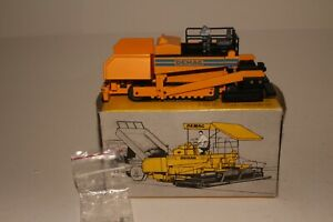 NZG Demag Road Finisher, 1/50th Scale Boxed