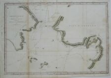 Original 1784 Map NORTON SOUND BERING STRAIT Captain Cook's 3rd Voyage Alaska