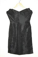 Sensations woman's fashion designer party coctail petite robe noire taille m/l