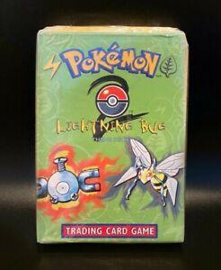 Pokémon TCG Lightning Bug ERROR Base Set 2 Theme Deck SEALED PSA Basis BGS