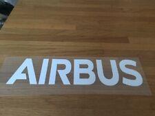 AIRBUS PATCH FLOCAGE RUGBY FLEX BLANC - 22.5 CM PAR 5.5 CM