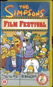The Simpsons Film Festival, PAL VHS Video Tape, Matt Groening, James L Brooks