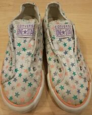 Girl's CONVERSE Shoes One Star Multicolor Size 1.5 Back to school