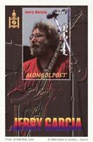 Mongolia - Jerry Garcia on Stamps -  Stamp S/S  - 13F-029