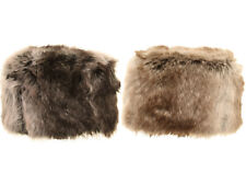 Ladies Faux Fur Hat Pillbox Russian Style Luxury Cossack Cloche Hat 2 Colours