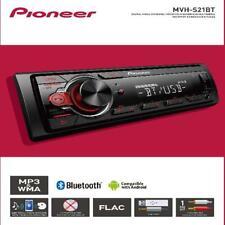 Pioneer Bluetooth Car Stereo Receiver AM/FM Radio Audio System Single DIN USB