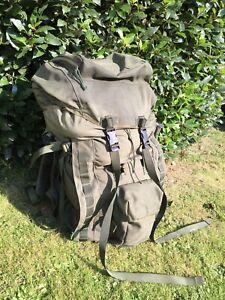 British Army PLCE Olive Green Short Back Bergan Rucksack