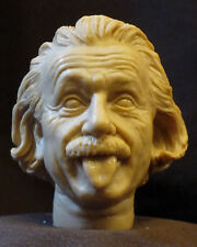 "CUSTOM ALBERT EINSTEIN RESIN HEAD SCULPT, Action figures 1/6 scale 12"" V-133"